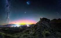Milky Way Magellanic Clouds Aurora Australis Orion amp Horsehead Nebula Coronet Peak Queenstown  south_of_home
