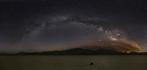 Milky Way Mosaic Over the Racetrack Playa in Death Valley National Park