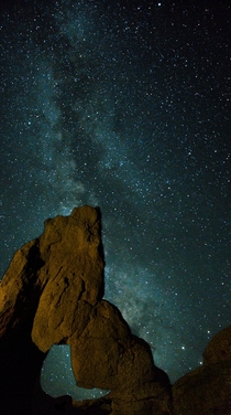 Milky Way over Boot Arch in the Alabama Hills CA