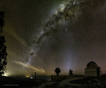 Milky Way over Bosque Alegre Station Argentina
