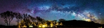 Milky Way over Deep Springs College