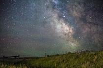 Milky Way over Montana  x