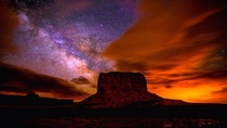 Milky Way Over Monument Valley Gavin Heffernan