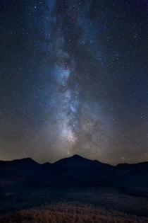 Milky Way over Mt Marcy Adirondack State Park NY