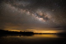 Milky Way over one of Floridas Last Remaining Dark-Sky Beaches
