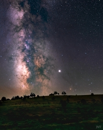 Milky Way over Spanish Fork Canyon UT