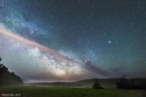 Milky Way over the Crimean Peninsula Photo by Ilya Zhirnov