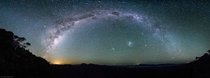 Milky Way over the Grampians Victoria Australia