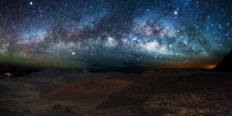 Milky Way Panorama above Haleakala
