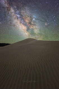 Milky Way Sand Dunes Death Valley NP California USA