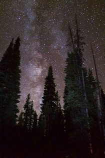 Milky Way Shot at Sparks Lake OR