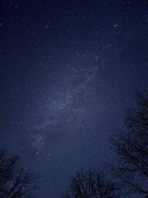 Milky way shot from a Pixel