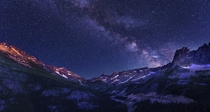 Milky Way Washington Pass Overlook WA By Sveta Imnadze