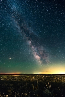 Milky Way wide field over the Great Plains