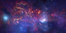 Milky Ways Galactic Center