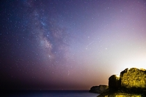 Milkyway as seen from Moraira Spain  More info in comments