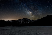 Milkyway at Bear Lake in Rocky Mountain National Park two mornings ago