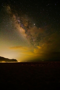 Milkyway at Kaena point Oahu