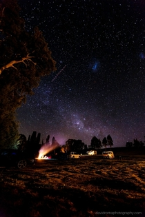 Milkyway by Firelight - Flat rock Australia