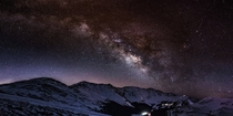 Milkyway Early this morning at Loveland Pass in Summit County Colorado