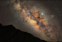 Milkyway Galaxys Sagittarius Arm from the Himalayas