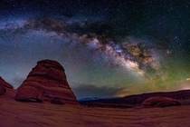 Milkyway in Arches National Park Utah