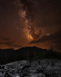 Milkyway over Algonquin mountain in the Adirondack mountains NY  IG trevorbelyea