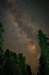 Milkyway over Minnesota  x