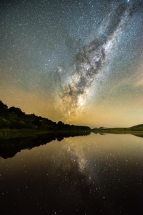 Milkyway reflections New Zealand  x