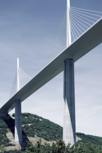 Millau Viaduct was designed by Foster in collaboration with structural engineer Michel Virlogeux It is the tallest bridge in the world with one of the masts rising to  meters
