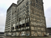 Millennium Mills a derelict flour mill in London built in