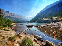 Mills Lake - A  mile hike into Rocky Mountain National Park   x