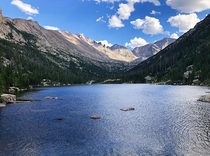 Mills Lake RMNP Colorado