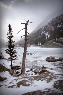 Mills Lake Rocky Mountain National Park a couple years ago