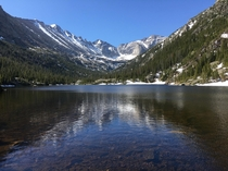 Mills Lake Rocky Mountain National Park  x