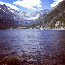 Mills Lake Rocky Mountain National Park  x  OC