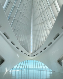 Milwaukee Art Museum designed by Santiago Calatrava Milwaukee Wisconsin USA