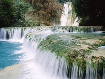 Minas Viejas Waterfalls Mexico -