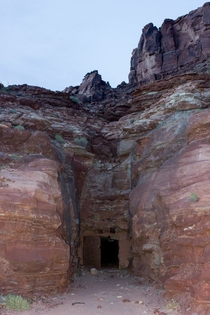 Mine entrance near Moab UT