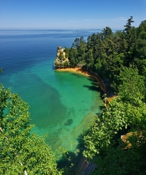 Miners Castle Pictured Rocks National Lakealshore Upper Peninsula of Michigan