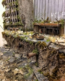 Miniature Abandoned Place looks so real