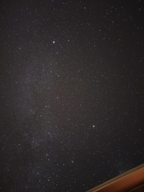 Minimal light pollution is fantastic