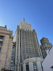 Ministry of Foreign Affairs headquarters Moscow Built