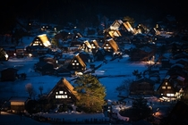 Minka homes in Shirakawa-go Japan