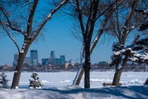Minneapolis in Wintertime
