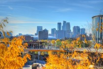 Minneapolis Minnesota in the fall