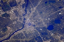 Minneapolis MN from International Space Station