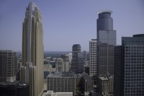Minneapolis view from Foshay Tower