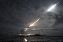 MinuteMan III ICBM re-enters atmosphere in Marshall Islands