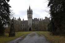 Miranda Castle Belgium - Built  - Occupied up to WWII Re-purposed post WWII Vacant Used as Castle Lecter for American television series Hannibal Used in Belgium Film Vandalized Burned - Ultimately Demolished
